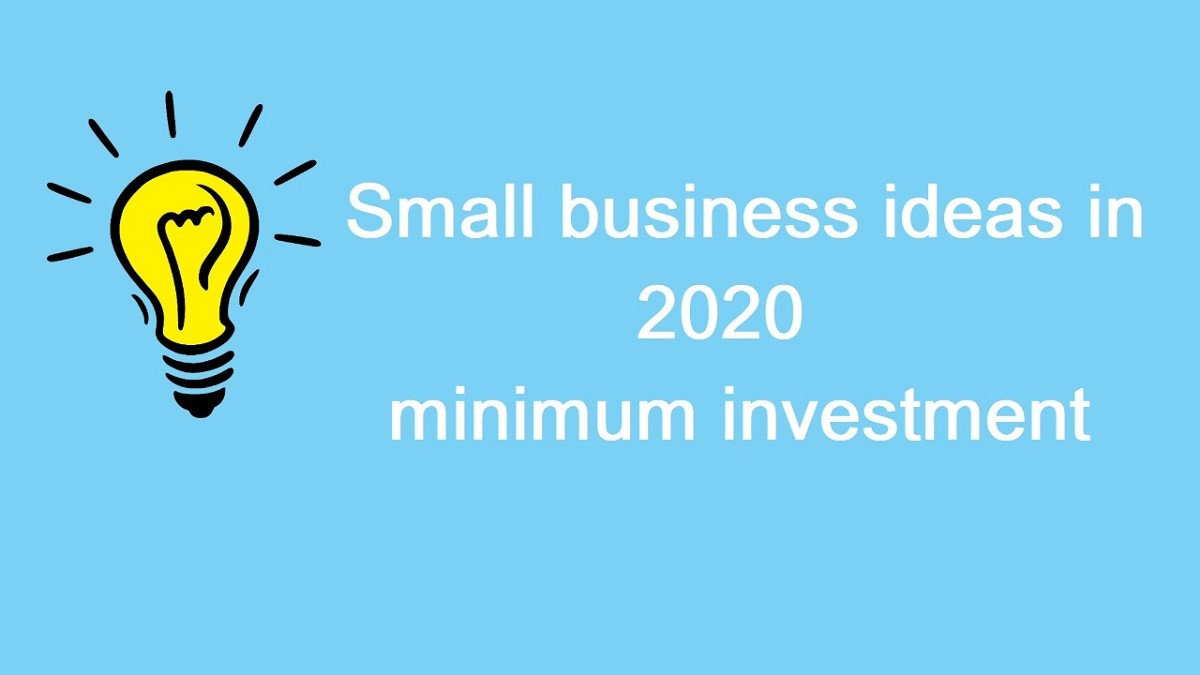 Latest online small business ideas in India 2020 with minimum investment