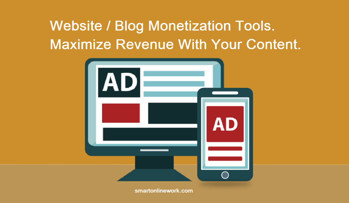 Monetize your website with the right monetization tool